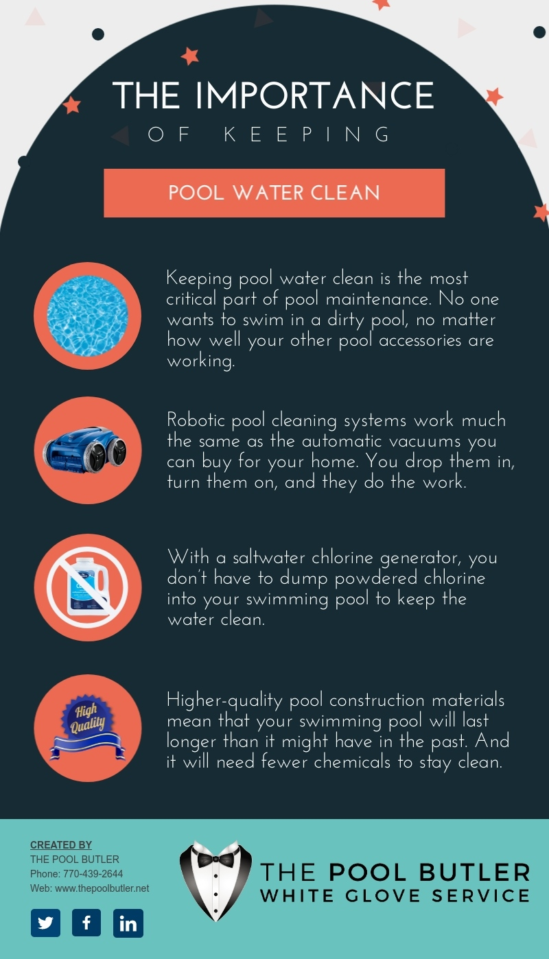 The Importance Of Keeping Pool Water Clean [infographic]