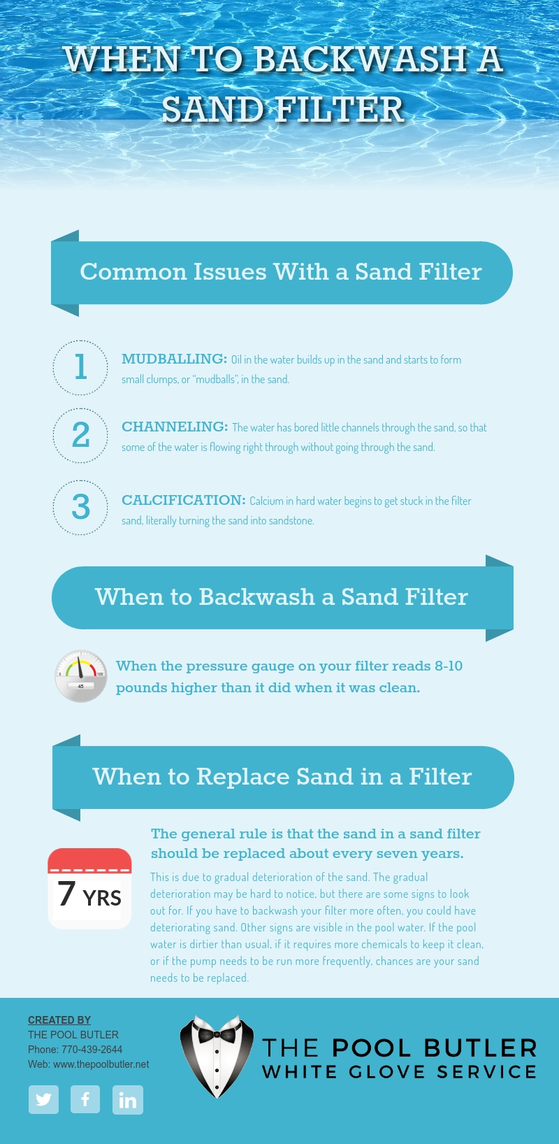 When to Backwash A Sand Filter | Sand Filter Maintenance