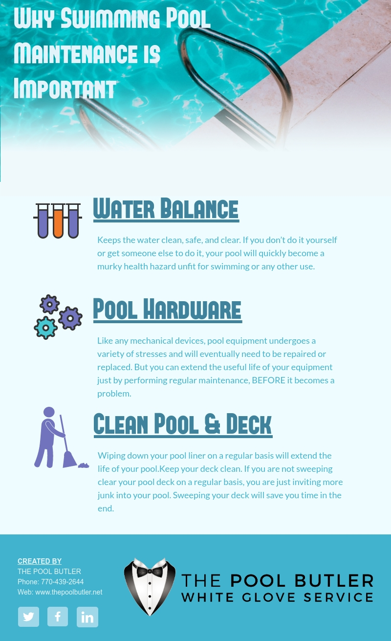 Why Swimming Pool Maintenance is Important [infographic]