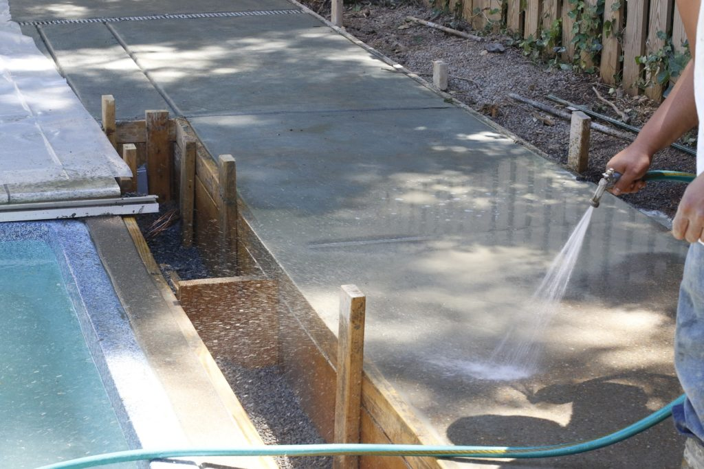 Maintaining a Concrete Pool