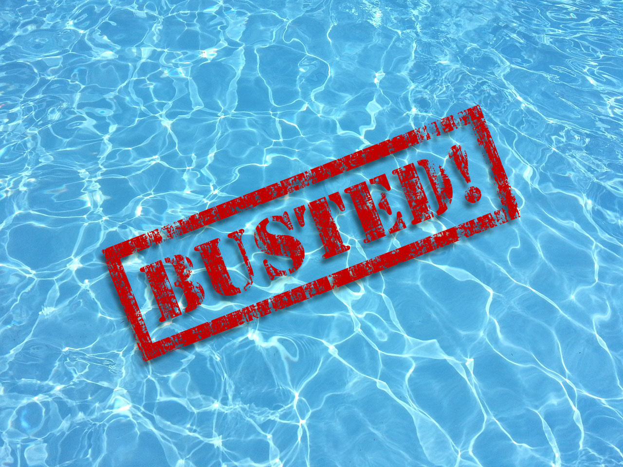 Swimming Pool Myths: BUSTED!