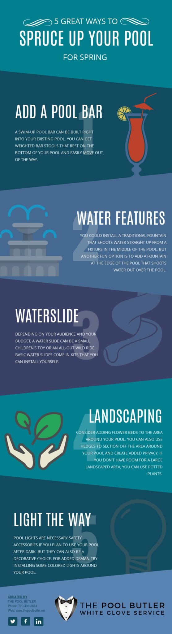 5 Great Ways to Spruce Up Your Pool for Spring [infographic]