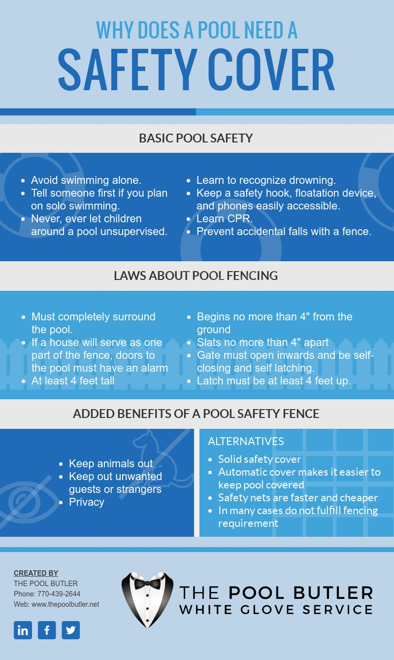 Why Does a Pool Need a Safety Fence [infographic]]
