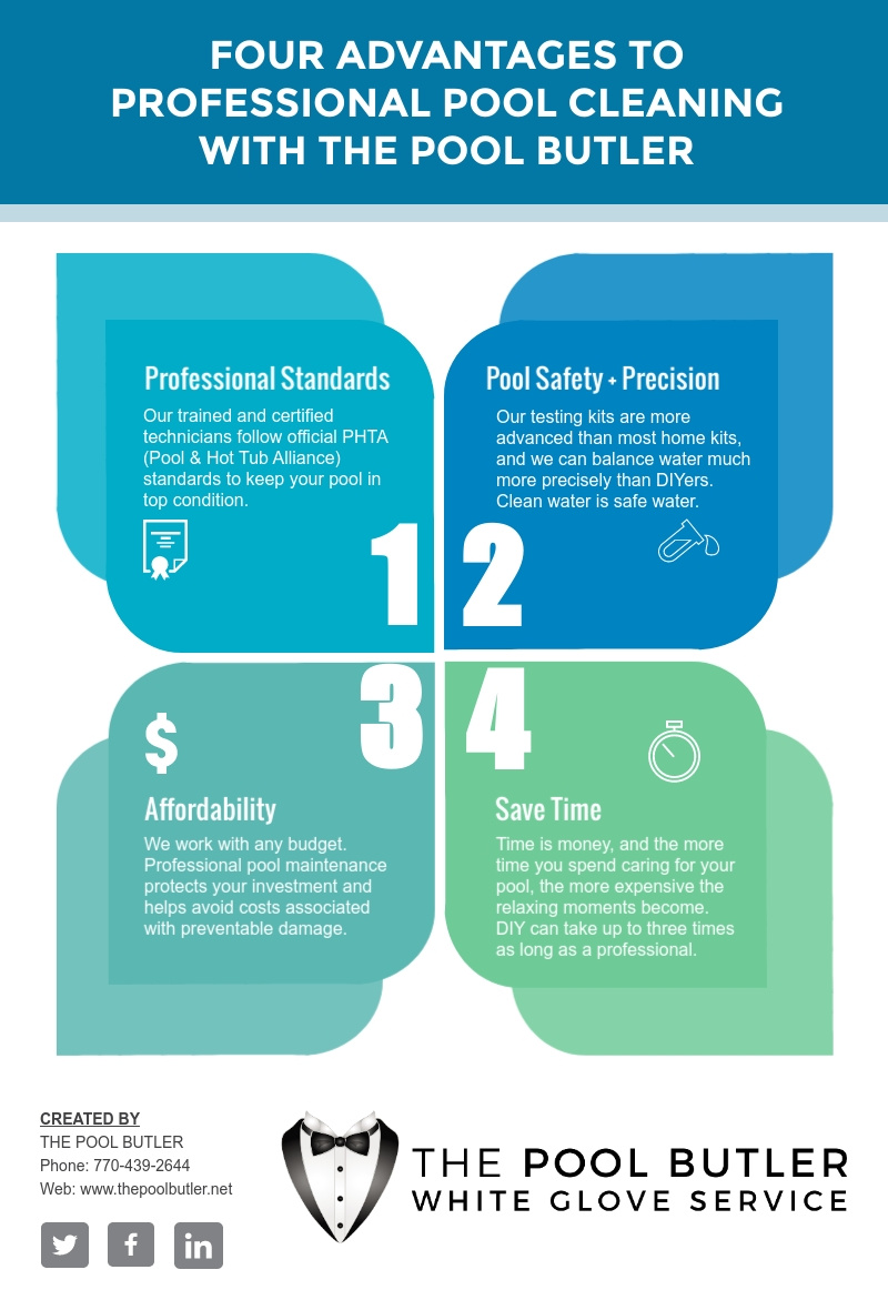 Is Pool Cleaning and Maintenance A DIY Job [infographic]