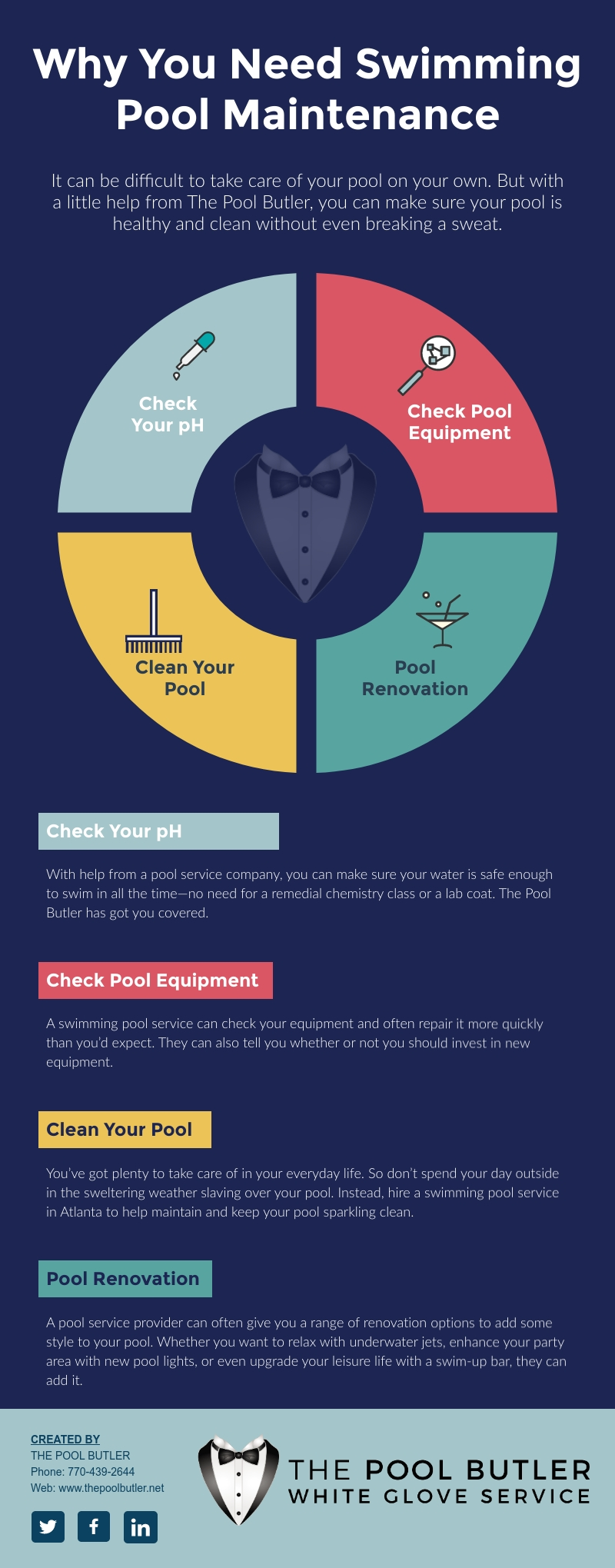 Why You Need Swimming Pool Maintenance In Atlanta [infographic]