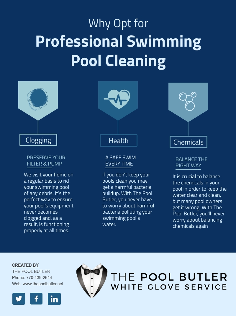 Why Opt for Professional Swimming Pool Cleaning In Atlanta [infographic]