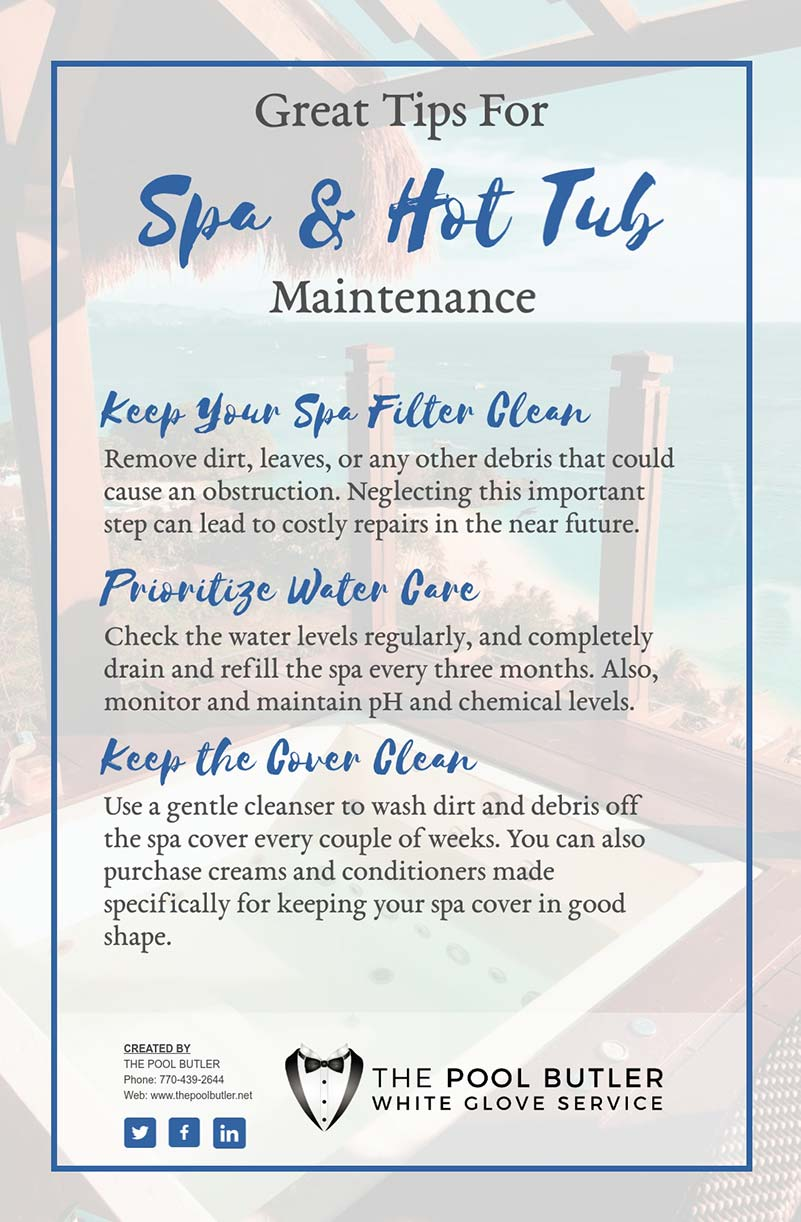 Spa Diagnostic Tips To Keep Your Hot Tub In The Perfect Shape [infographic]
