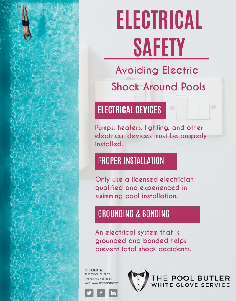 Preventing Electrical Hazards In And Around Your Swimming Pool [infographic]